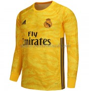 Voetbalshirts Clubs Real Madrid 2019-20 Keeper Thuisshirt Lange Mouw