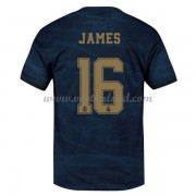 Voetbalshirts Clubs Real Madrid 2019-20 James Rodriguez 16 Uitshirt