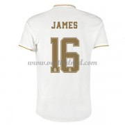 Voetbalshirts Clubs Real Madrid 2019-20 James Rodriguez 16 Thuisshirt