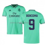 Voetbalshirts Clubs Real Madrid 2019-20 Karim Benzema 9 Third Shirt