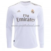 Voetbalshirts Clubs Real Madrid 2019-20 Thuisshirt Lange Mouw