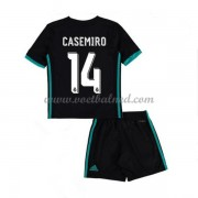 Voetbaltenue Kind Real Madrid 2017-18 Casemiro 14 Uitshirt..