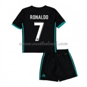 Voetbaltenue Kind Real Madrid 2017-18 Cristiano Ronaldo 7 Uitshirt..