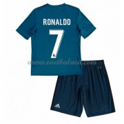 Voetbaltenue Kind Real Madrid 2017-18 Cristiano Ronaldo 7 Third Shirt..