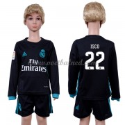 Voetbaltenue Kind Real Madrid 2017-18 Isco 22 Uitshirt Lange Mouw..