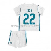 Voetbaltenue Kind Real Madrid 2017-18 Isco 22 Thuisshirt..
