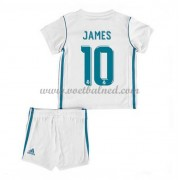 Voetbaltenue Kind Real Madrid 2017-18 James Rodriguez 10 Thuisshirt..