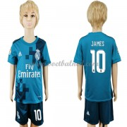 Voetbaltenue Kind Real Madrid 2017-18 James Rodriguez 10 Third Shirt..