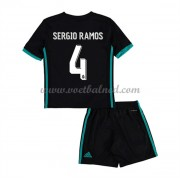 Voetbaltenue Kind Real Madrid 2017-18 Sergio Ramos 4 Uitshirt..