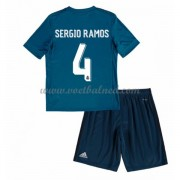 Voetbaltenue Kind Real Madrid 2017-18 Sergio Ramos 4 Third Shirt..