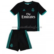 Voetbaltenue Kind Real Madrid 2017-18 Uitshirt..