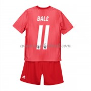 Voetbaltenue Kind Real Madrid 2018-19 Gareth Bale 11 Third Shirt