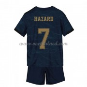 Voetbaltenue Kind Real Madrid 2019-20 Eden Hazard 7 Uitshirt