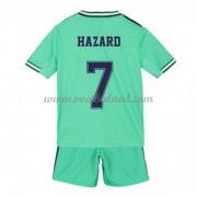 Voetbaltenue Kind Real Madrid 2019-20 Eden Hazard 7 Third Shirt