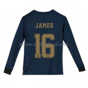Voetbaltenue Kind Real Madrid 2019-20 James Rodriguez 16 Uitshirt Lange Mouw
