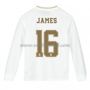 Voetbaltenue Kind Real Madrid 2019-20 James Rodriguez 16 Thuisshirt Lange Mouw