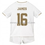 Voetbaltenue Kind Real Madrid 2019-20 James Rodriguez 16 Thuisshirt