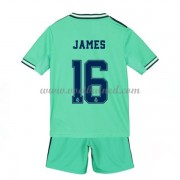 Voetbaltenue Kind Real Madrid 2019-20 James Rodriguez 16 Third Shirt
