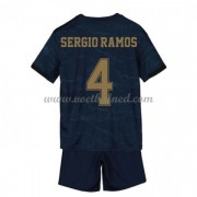 Voetbaltenue Kind Real Madrid 2019-20 Sergio Ramos 4 Uitshirt