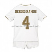 Voetbaltenue Kind Real Madrid 2019-20 Sergio Ramos 4 Thuisshirt