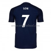 Voetbalshirts Clubs Tottenham Hotspurs 2017-18 Son 7 Uitshirt..