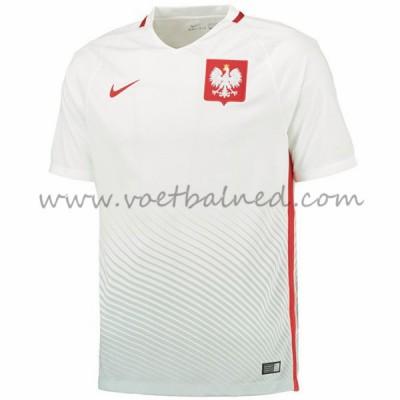 Goedkope Voetbalshirts Polen EK 2016 Thuis Tenue