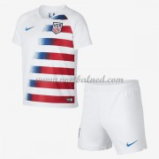 Voetbaltenue Kind USA 2018 Thuisshirt..