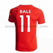 Voetbaltenue Wales Nationale Elftal 2016 Bale 11 Thuisshirt..