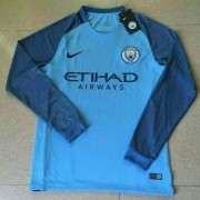 Voetbalshirts Clubs Manchester City 2016-17 Thuisshirt Lange Mouw..