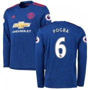 Voetbalshirts Clubs Manchester United 2016-17 Paul Pogba 6 Uitshirt Lange Mouw..