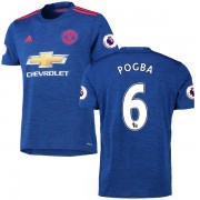 Voetbalshirts Clubs Manchester United 2016-17 Paul Pogba 6 Uitshirt..