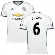 Voetbalshirts Clubs Manchester United 2016-17 Paul Pogba 6 Third Shirt..