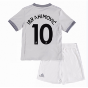 Voetbaltenue Kind Manchester United 2017-18 Zlatan Ibrahimovic 10 Third Shirt..