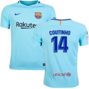 Voetbalshirts Clubs Barcelona 2017-18 Philippe Coutinho 14 Uitshirt