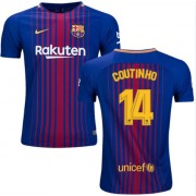 Voetbalshirts Clubs Barcelona 2017-18 Philippe Coutinho 14 Thuisshirt