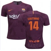 Voetbalshirts Clubs Barcelona 2017-18 Philippe Coutinho 14 Third Shirt..