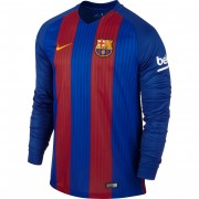 Voetbalshirts Clubs Barcelona 2016-17 Thuisshirt Lange Mouw..