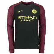 Voetbalshirts Clubs Manchester City 2016-17 Uitshirt Lange Mouw..