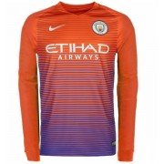 Voetbalshirts Clubs Manchester City 2016-17 Third Shirt Lange Mouw..